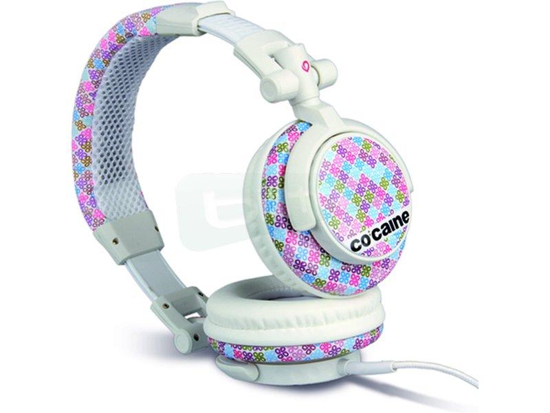 Co:caine Sound Clash Girl Getter - Auricular diadema. Frecuencia 20Hz-20kHz. Jack 3.5mm. Altavoces de 50mm.