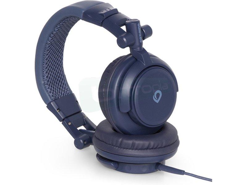 Co:caine Sound Clash Nautics - Auricular diadema. Frecuencia 20Hz-20kHz. Jack 3.5mm. Altavoces de 50mm.