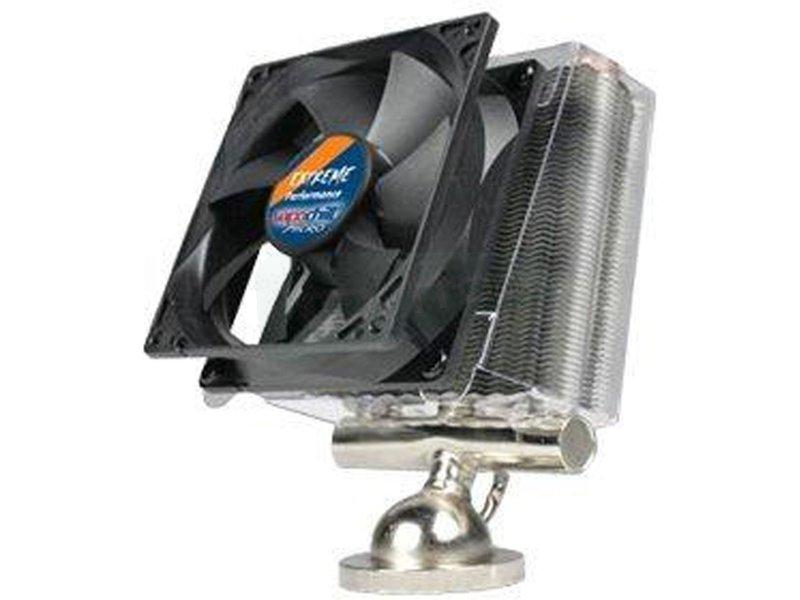 Asetek Vapochill Micro 754/939/940 Xtreme - Cooler para CPU con base y tubos de cobre. Incluye ventilador de 92mm. Compatible con socket 754. 939 y 940.