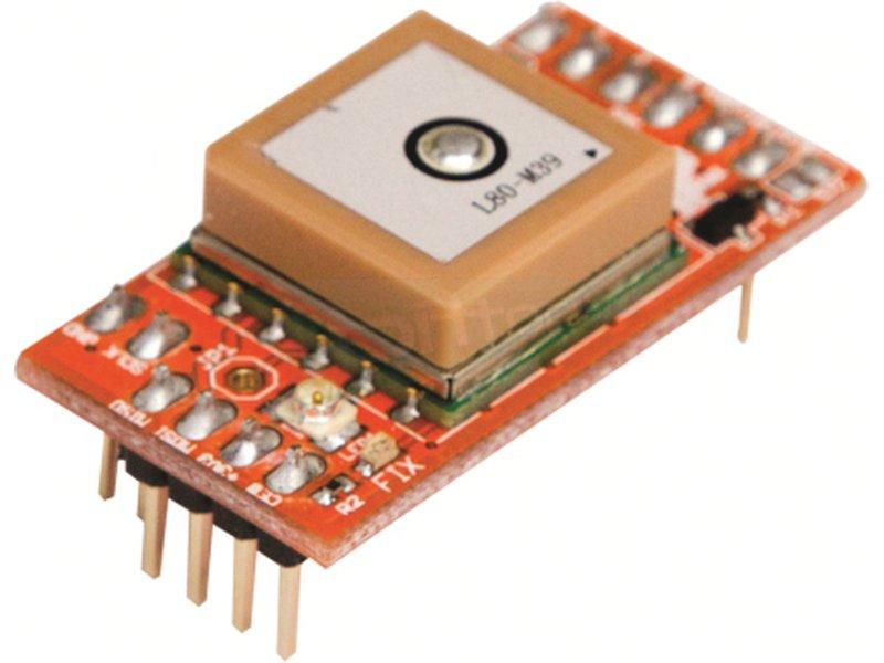 GPS Microstack - Conectividad con satélite. Baja potencia. Cronometraje preciso. Seguimiento de velocidad. Precisa a 5 Metros.