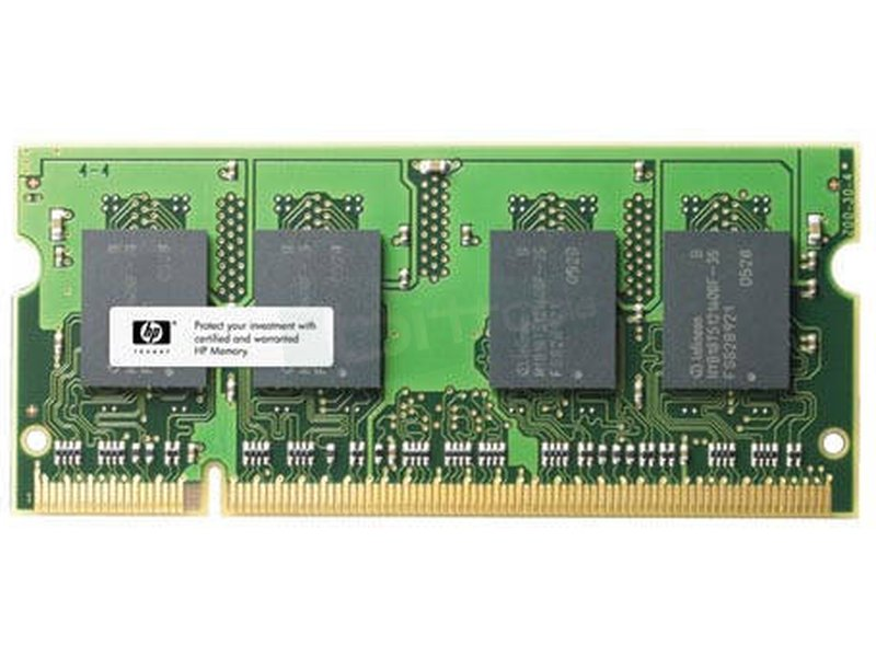SO-DIMM DDRII 1Gb (portatil) 667MHz - Memoria HP SO-DIMM 1GB PC2-5300 667MHZ