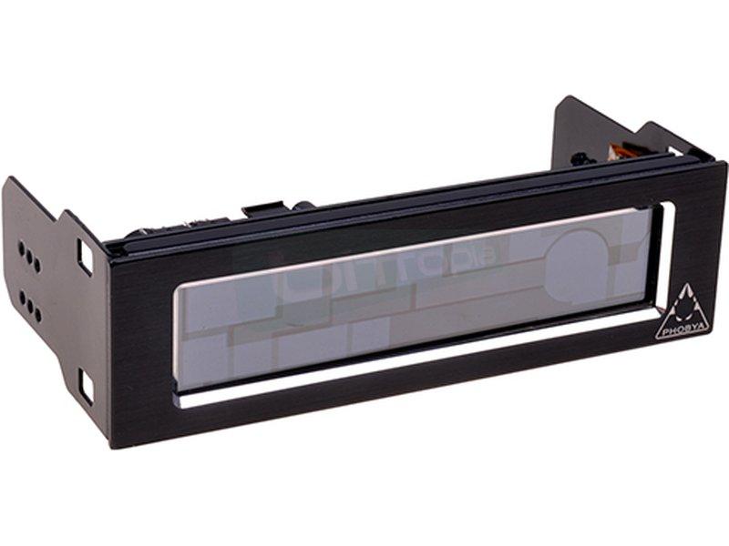 Phobya Touch 530 5.25 Negro - Regulador de 5 canales. hasta 30W. por canal.