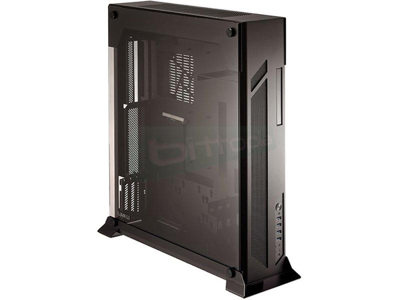 Lian Li PC-07SX. Edición limitada - Caja Miditorre en color negro. Fabricada en Aluminio. Conexiones: 4 x USB 3.0 y AudioHD. 4 x PCI. 1 bahías externa ODD Slim. 4 bahías internas 3.5. 5 bahías internas 2.5. Compatible con placas E-ATX, SP-ATX y ATX.
