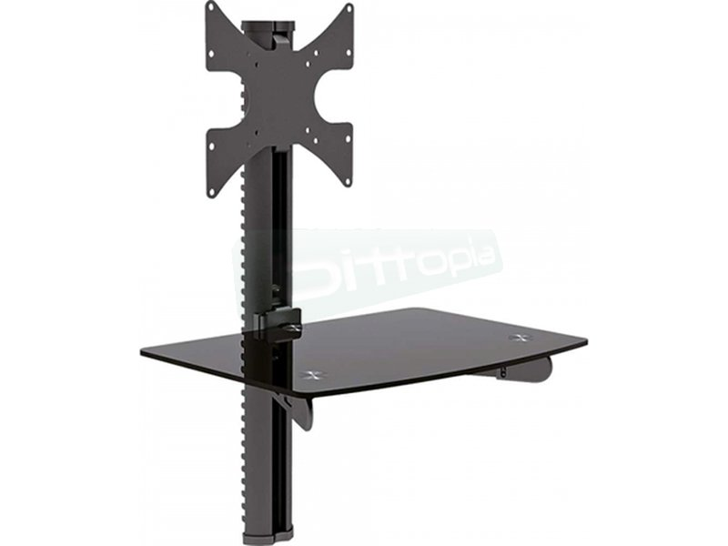 Soporte pared. 32pulg. TV hasta 30kg. DVD hasta 10Kg.