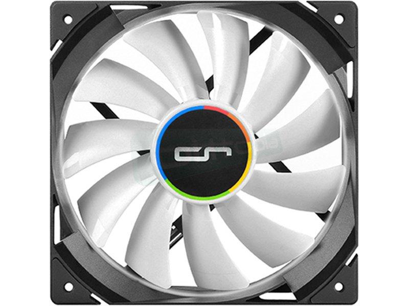 Cryorig QF Performance 120x120x25 - Ventilador 120x120x25.4mm PWM. Velocidad 600~2200RPM. Flujo de aire 83CFM. Nivel sonoro 13~37dBA. 134gr.