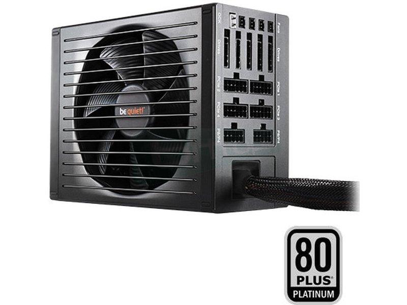 be quiet!  P11-PRO 850W Dark Power 80Plus Platinum - Fuente de alimentación ATX de 850W. Certificación 80+ Platinum. Ventilador SilentWings de 135mm. 10.4~20.1dBA. 4 Railes 12V. Cableado Modular.