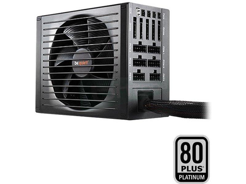 be quiet!  P11-PRO 550W Dark Power 80Plus Platinum - Fuente de alimentación ATX de 550W. Certificación 80+ Platinum. Ventilador SilentWings de 135mm. 8.7~10.1dBA. 4 Railes 12V. Cableado Modular.
