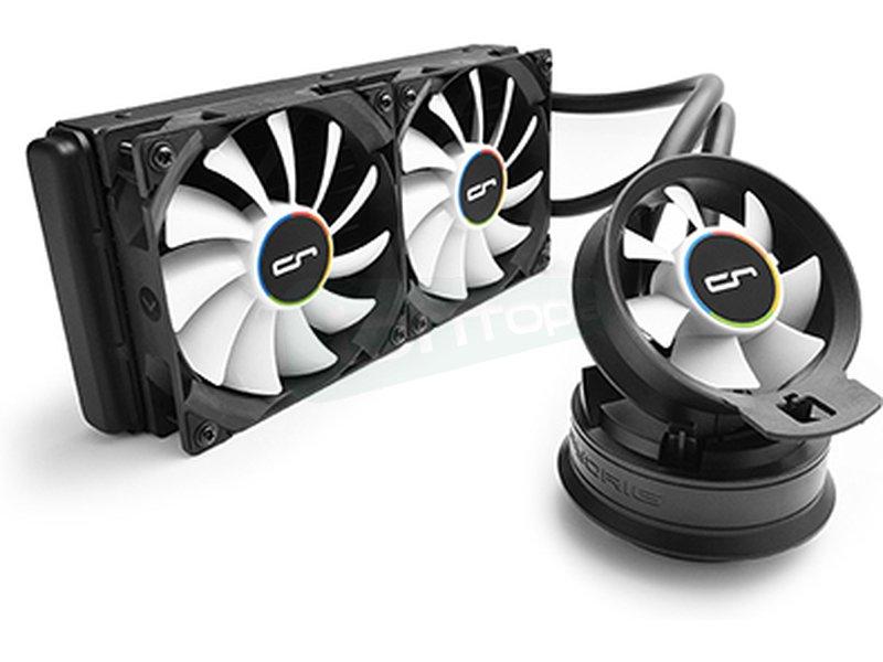 Cryorig A40 - Sistema de refrigeración líquida completo, eficiente y potente. Compatible 115X/1366/2011(-v3) y AM2(+)/AM3(3+)/FM1/FM2(+).