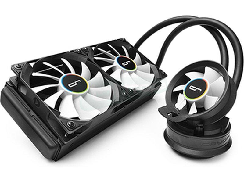 Cryorig A40 Ultimate - Sistema de refrigeración líquida completo, eficiente y potente. Compatible 115X/1366/2011(-v3) y AM2(+)/AM3(3+)/FM1/FM2(+).
