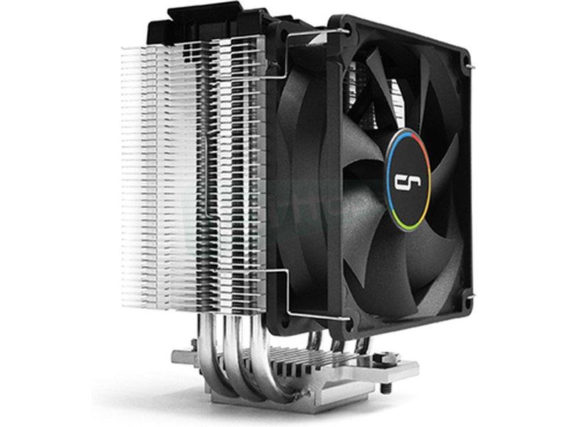Cryorig M9I - Cooler para CPU con 3 Heatpipes de cobre. Ventilador 92x92x25.4mm PWM. 600~2200 RPM. 26.4 dBA. 48.4CFM. TDP: 120W. Compatible con socket Intel 115X.
