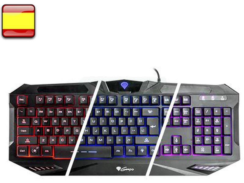Genesis RX39 - El teclado teclado Gaming Genesis RX39 es un teclado de alta calidad con especificaciones de los teclados de alta gama. Diseño. comodidad. características Gaming y completamente retroiluminado en 3 colores.