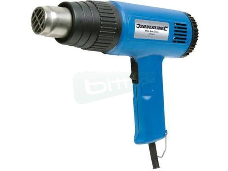 Pistola de calor para tubos PETG. 2000W - Pistola de calor para tubos. Hasta 2000 vatios de potencia. 2 ajustes de temperatura.