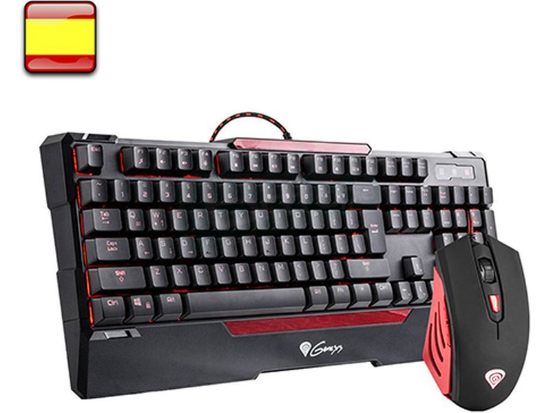 Genesis CX55 - Llega el combo definitivo para gamers. Con el Combo Génesis CX55 de Teclado + ratón Gaming. tendremos las armas que buscábamos para nuestro PC. Unos periféricos que harán que ganemos en el Online.