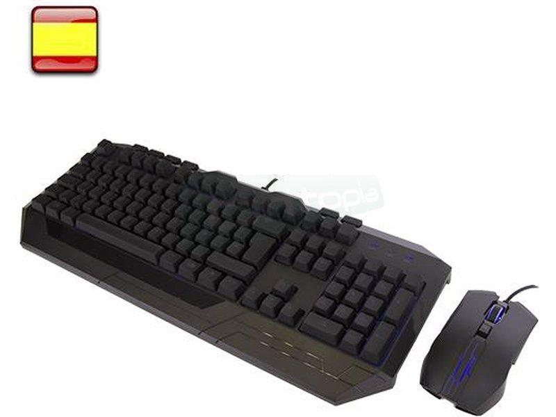 CM Storm Devastator II KIT Teclado+raton Azul Mem-chanical - CoolerMaster lo vuelve a hacer. Con el Devastator II - Devastarás el campo de batalla Online. ¡Arrasa a tus rivales!