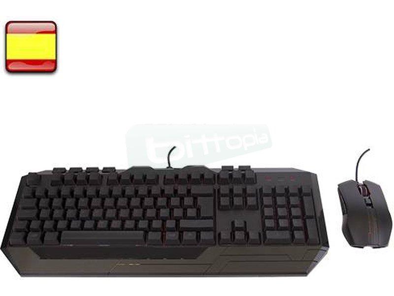 CM Storm Devastator II KIT Teclado+raton Rojo Mem-chanical