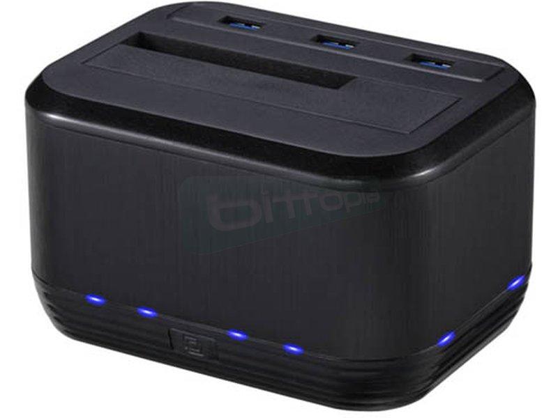 Tooq TQDSHC-101B. Docking USB 3.0 + cargador