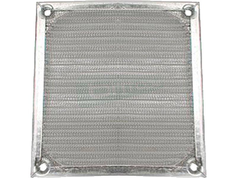 InLine 33370A. Rejilla de aluminio 120x120mm - Rejilla de aluminio para ventilador de 120x120mm.
