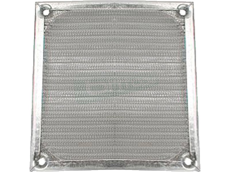 InLine 33372A. Rejilla de aluminio 140x140mm - Rejilla de aluminio para ventilador de 140x140mm.