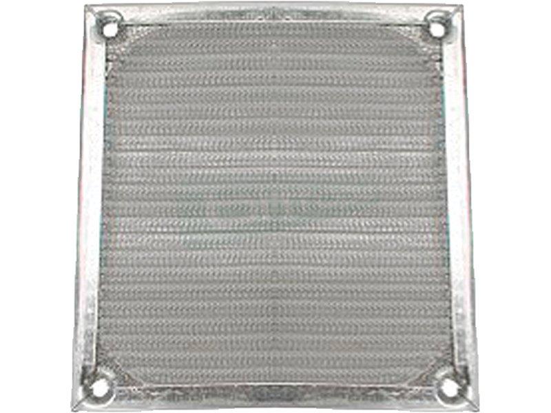InLine 33378A. Rejilla de aluminio 80x80mm - Rejilla de aluminio para ventilador de 80x80mm.