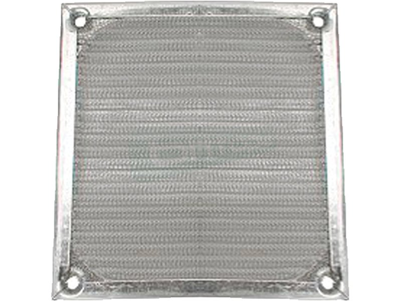 InLine 33379A. Rejilla de aluminio 92x92mm - Rejilla de aluminio para ventilador de 92x92mm.