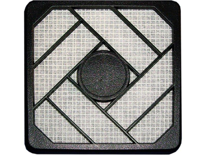 InLine 33470. Filtro de plástico 120 x 120mm - Filtro de plástico para ventilador de 120x120mm en color negro.