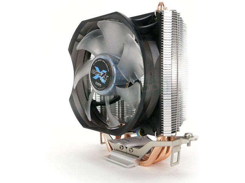 Zalman CNPS 7X Led Plus - Cooler para CPU fabricado con base de cobre. Ventilador 92mm PWM. Leds de color azul. Compatible con Socket 775/115x y Socket AM2(+)/AM3(+)/FM1/FM2.