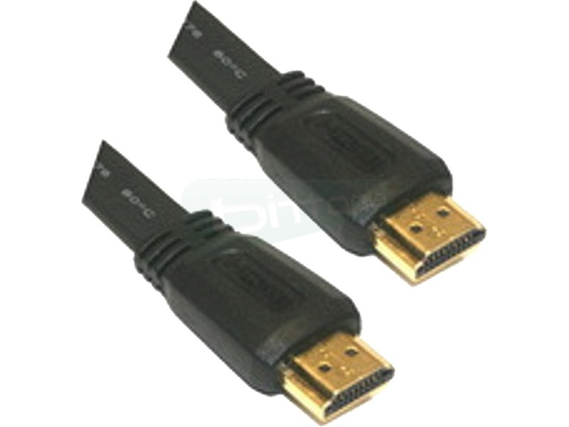 Cable HDMI V1.4 (Alta velocidad / HEC). A/M-A/M. 3.0m - Cable HDMI alta velocidad con Ethernet (V1.4) con conector tipo A macho en ambos extremos.