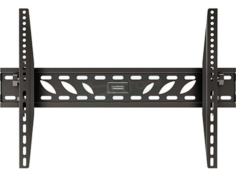 """Tooq Soporte de pared para un monitor. De 32 a 60. - Soporte ultra compacto que le permite fijar su monitor/TV LCD. Plasma y LED de 32"""" a 60"""" pulgadas a una distancia de la pared de 74mm."""