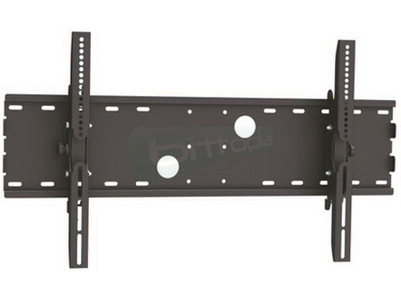 """Tooq Soporte de pared para un monitor. De 37 a 70. - Soporte ultra compacto que le permite fijar su TV/monitor de 37"""" a 70"""" pulgadas a una distancia de la pared de 83mm"""