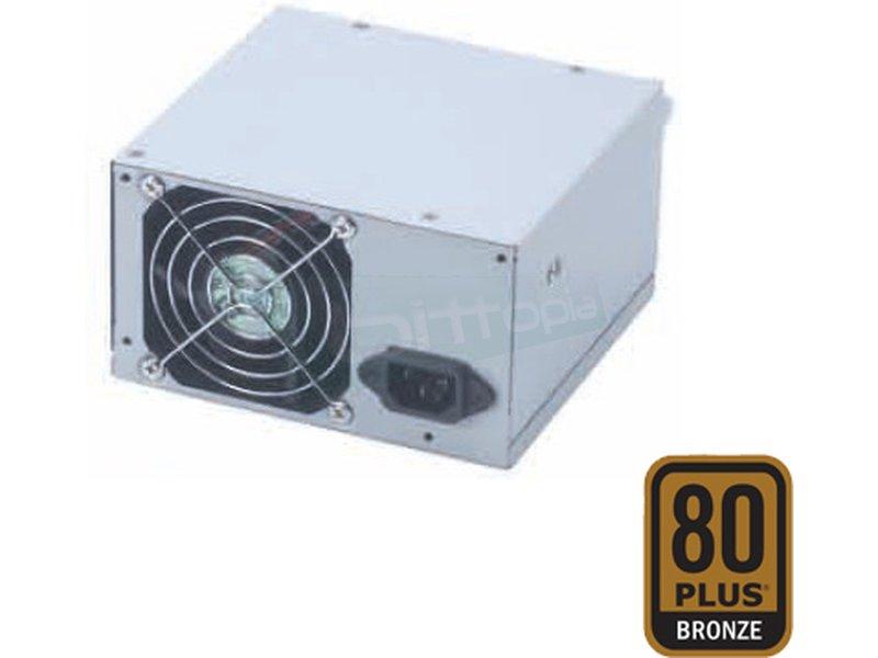 Fuente alimentación ATX 460W 80Plus Bronze ventilación trasera